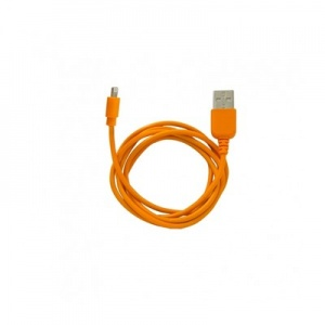 Кабель Ligthtning USB Super Link Rainbow L Orange, 1 м, iph сер.5